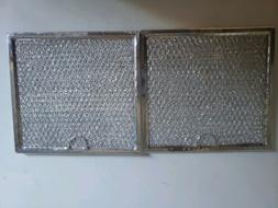 """2 Pack GE Grease Microwave Filters 6-3/8"""" x 6-3/4"""" x 3/32"""""""