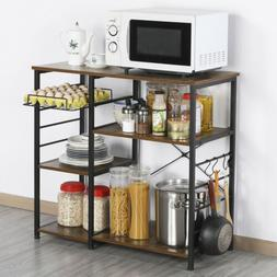 3-Tier Kitchen Baker Rack Microwave Oven Rack Stand Storage