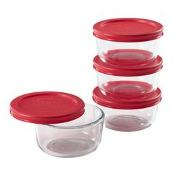 Pyrex Simply Store 8-Piece Glass Food Storage Set