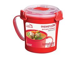 Sistema Microwave Collection Soup Mug, Medium, 22.1 oz./0.7