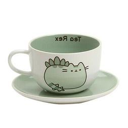 Adorable Set Dishwasher and Microwave Safe Pusheen Teacup an