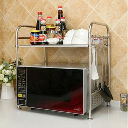Anmashome Kitchen Organizer Storage Rack Microwave Oven Shel