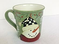 Certified International Becca Barton Snowman Mug Dishwasher