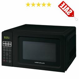 Black Digital Countertop Microwave Oven Dorm Room Office 700