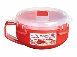 2x Sistema Breakfast Bowl Microwave 850ml Porridge Oats Lunc