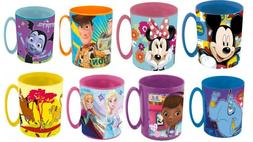 Disney Character Kids  Microwave Mug 360ml Plastic Kid Gift