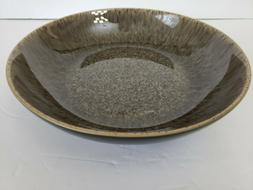Denby Chocolate Praline 8.5 inch Pasta/Serving Bowl ~ Microw