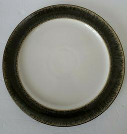 Denby Chocolate Praline 9.5 inch Lunch/Salad Plate Microwave