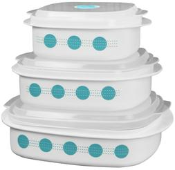 coordinates microwave cookware set
