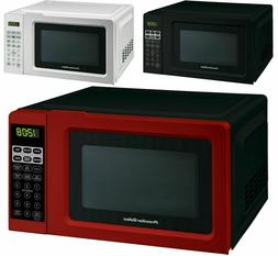 countertop kitchen home office digital led microwave