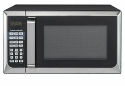 Countertop Microwave Oven Stainless Steel New Best Small 0.9