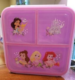 Disney Princess Leak-Proof Plastic Microwave Dishwasher safe