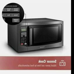 Toshiba Em131A5C-Bs Microwave Oven With Smart Sensor, Easy C