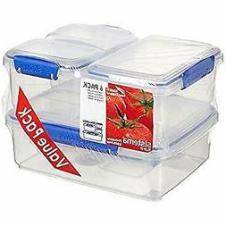 Food Storage Container BPA Free Sistema 6Pk 12 Piece Set Mic