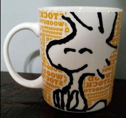 Gibson PEANUTS Woodstock 15 oz. NEW Ceramic Mug.  Dishwasher