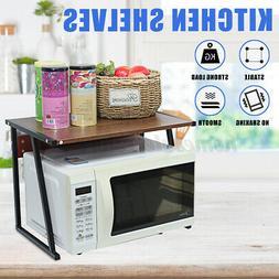 Kitchen Shelf Microwave Oven Rack Steel Stand Storage Cabine