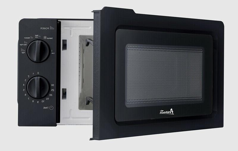 Avanti cu. 700W Countertop Manual Microwave Oven -