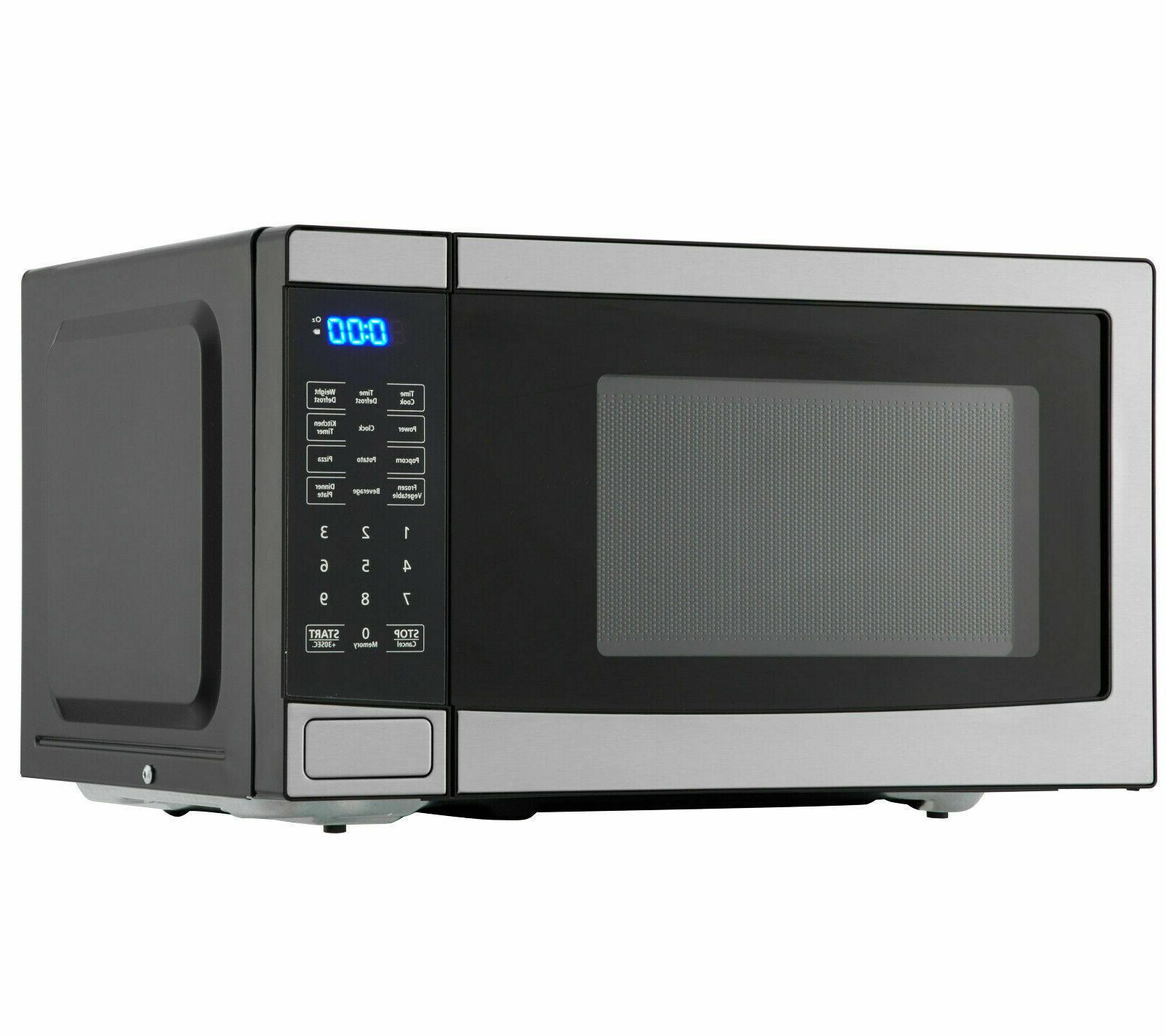 0 7 cu ft 700w stainless steel