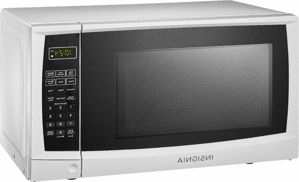 Insignia - Ft. Compact Microwave White,