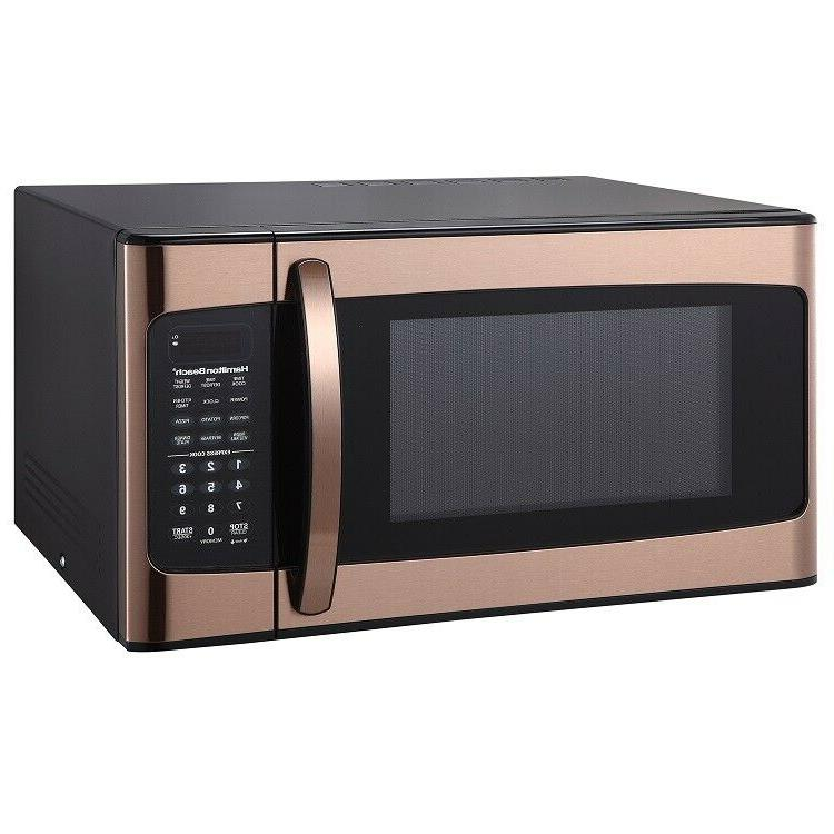 Hamilton Ft. Microwave Oven, Copper