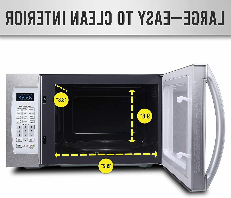 Farberware Professional FMO13AHTPLE 1.3 Cu. 1100-Watt Microwave Oven