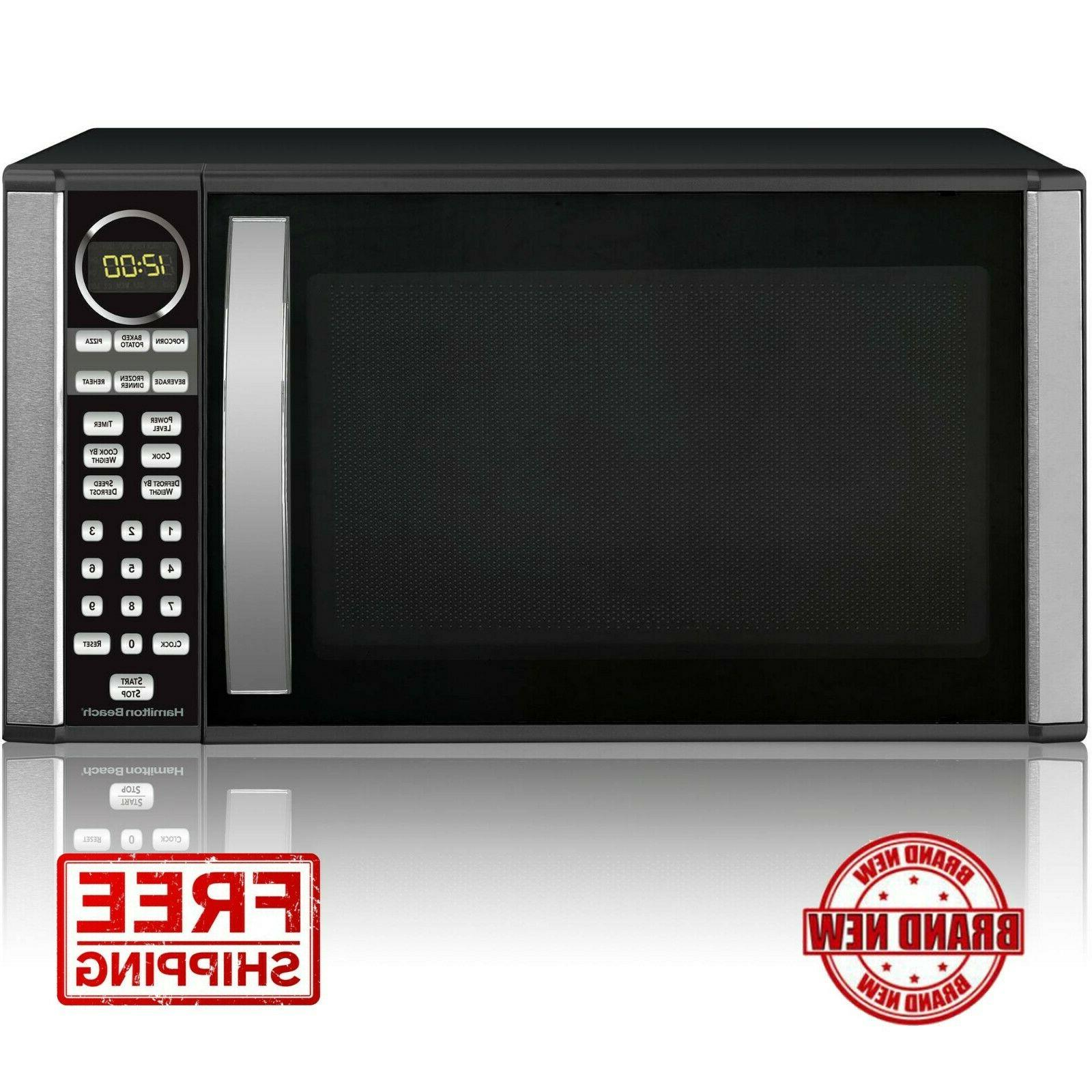 1 3 cu ft microwave oven black