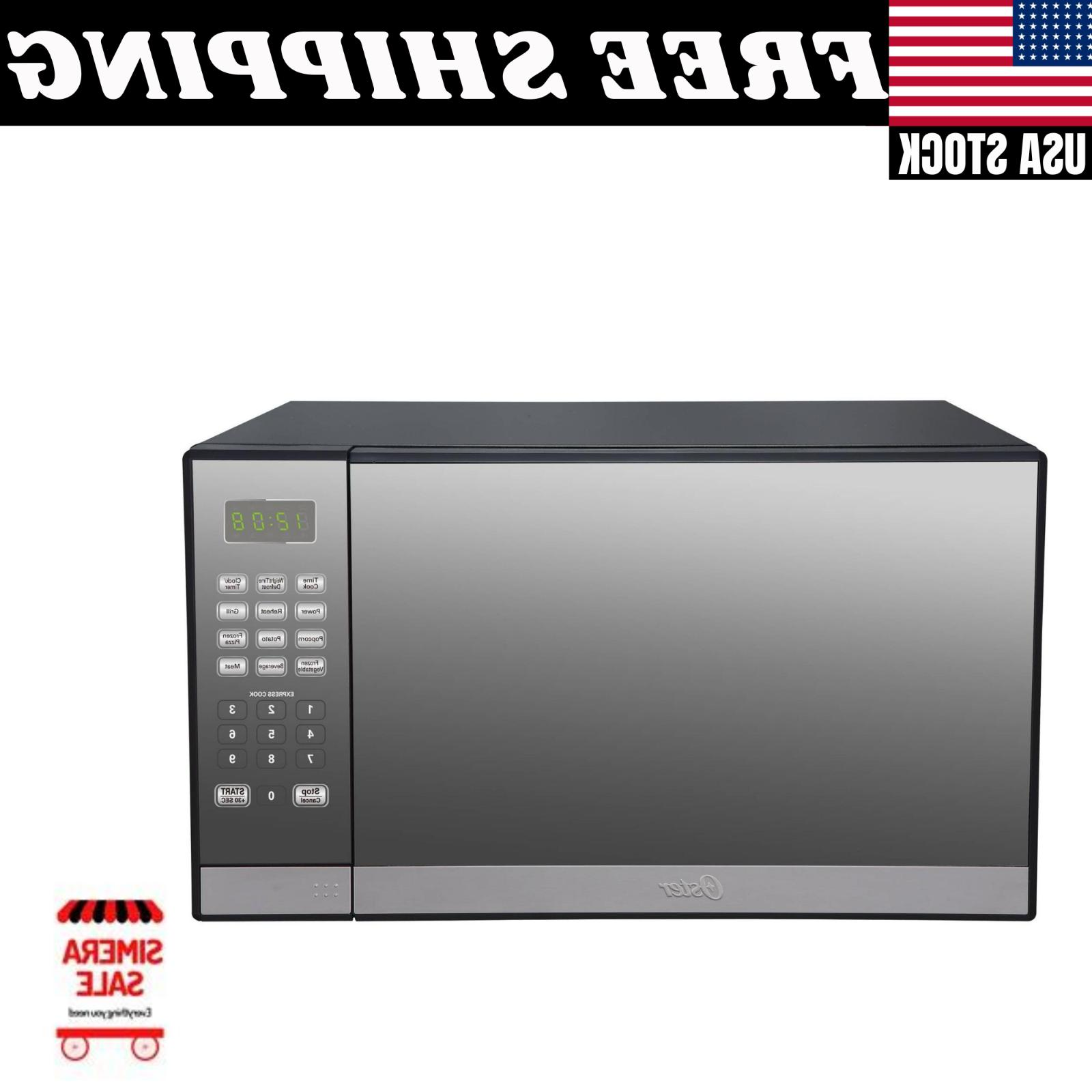 Oster Cu. Ft. Stainless Steel Finish Microwave Grill