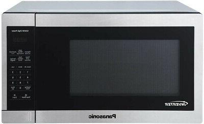 1 3cuft stainless steel countertop microwave oven