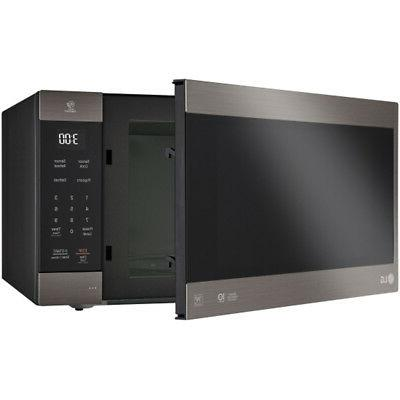 LG 2.0 Cu. NeoChef Countertop in Black Stainless LMC2075BD