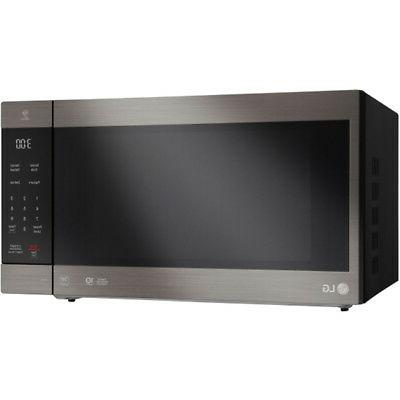 LG NeoChef Countertop Microwave in Black Stainless - LMC2075BD