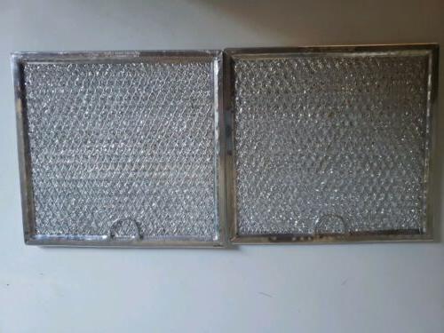 2 pack ge grease microwave filters 6