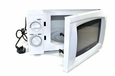 320 Watt - Low power White Microwave Oven