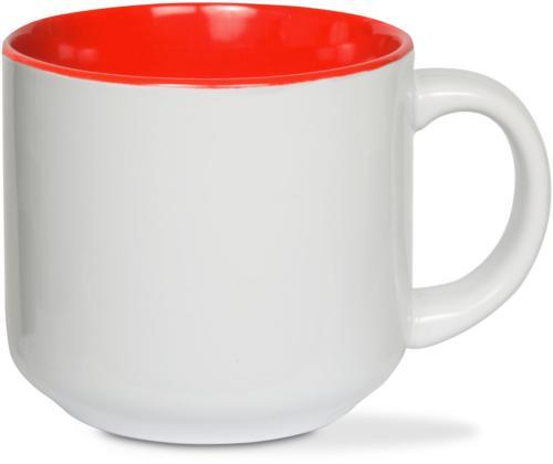 Pavilion Blobby Dog-Crazy Ceramic Red