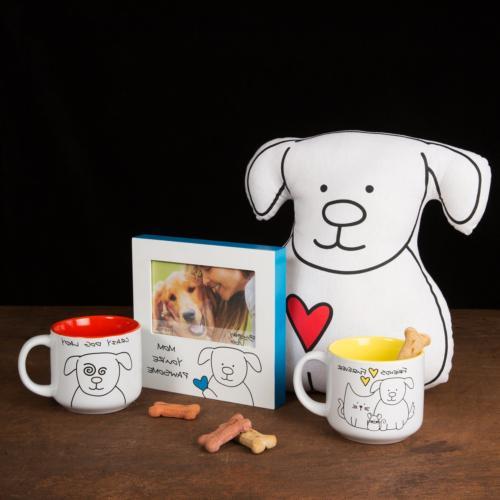 Pavilion Blobby Dog-Crazy Ceramic Mug,