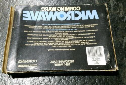 Corning Ware Microwave Mr-1 Bacon