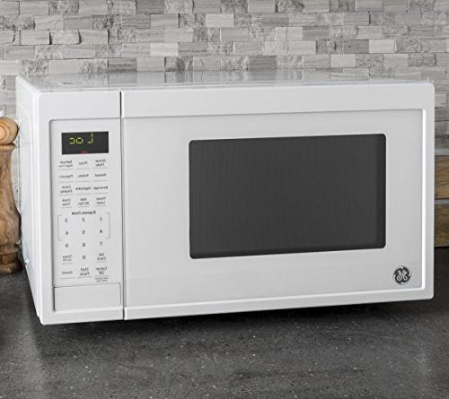 GE Capacity Countertop Microwave Oven, White