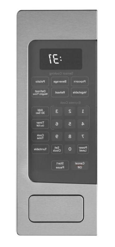 GE 1.1 Cu. Ft. Mid-Size Microwave - Stainless steel -PEM31SFSS