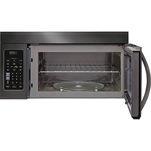 LG Ft. Black Microwave