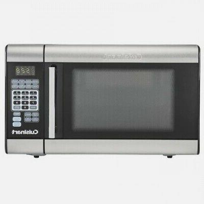 microwave brushed stainless
