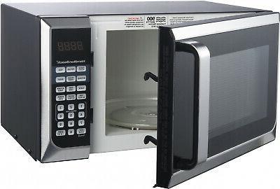 New Hamilton Beach 900W 0.9 Cu. Stainless Steel Microwave