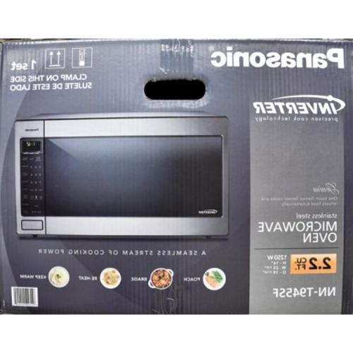 Panasonic Ft. Microwave Oven, Stainless