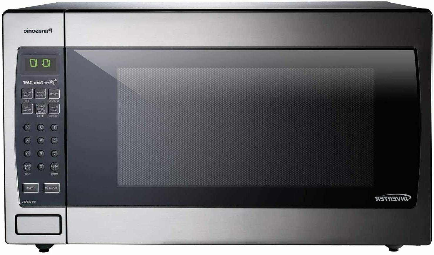 microwave oven nn sn966s stainless steel countertop