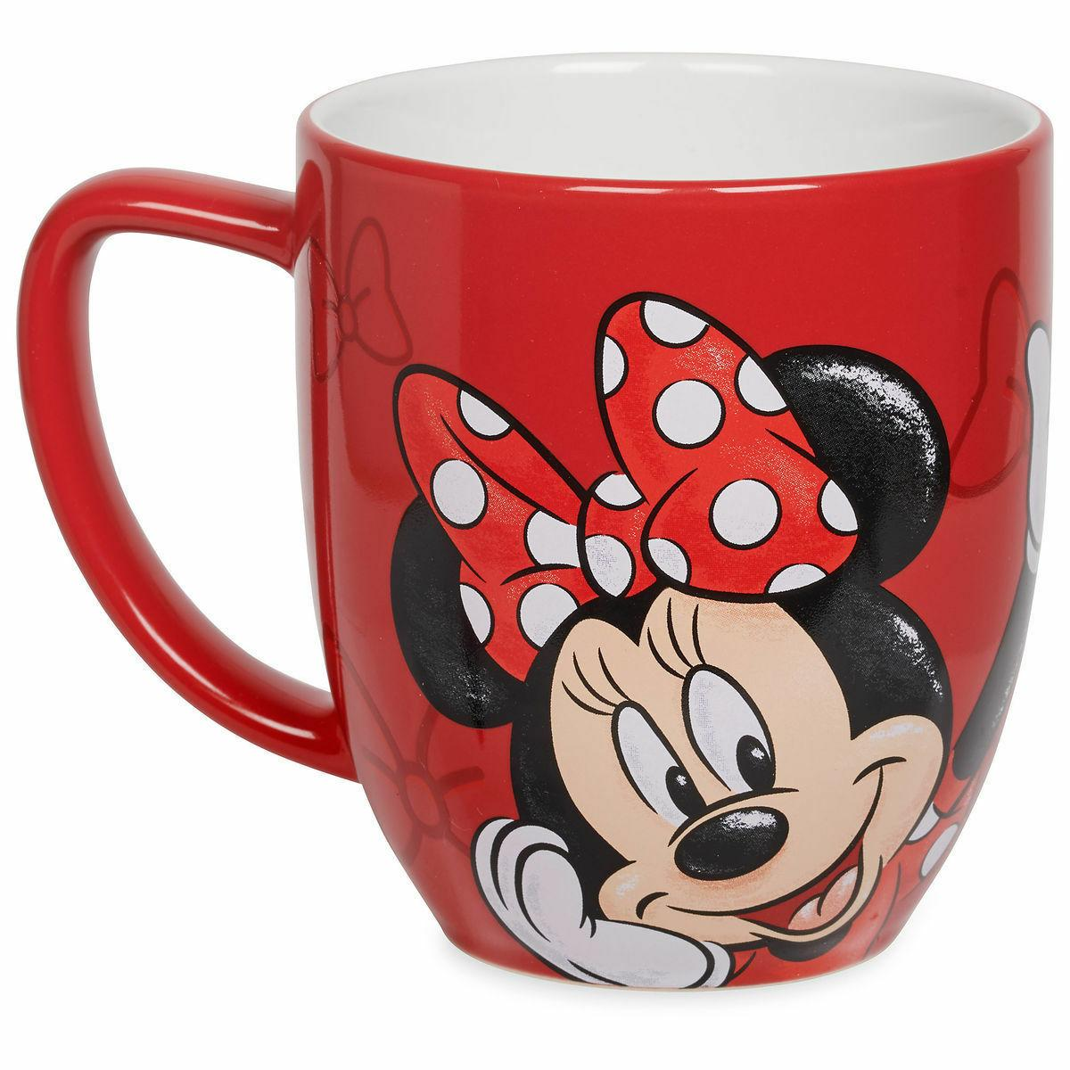 Disney Store Minnie Mouse Coffee Mug 12 oz Microwave & Dishw