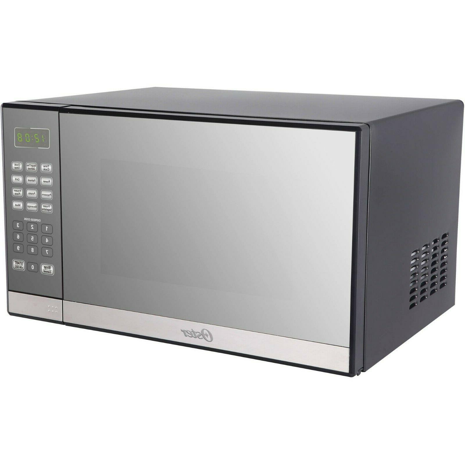 Oster Ft. Stainless Steel Finish Microwave Grill
