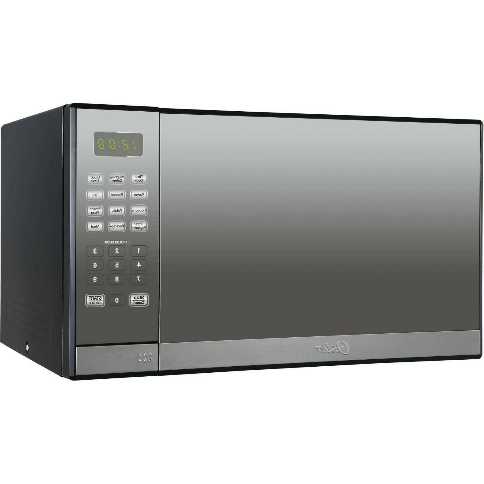 oster 1 3 cu ft stainless steel