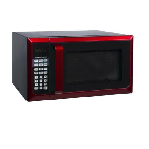 New Hamilton Beach Counter-Top Red Stainless Microwave Oven FREE