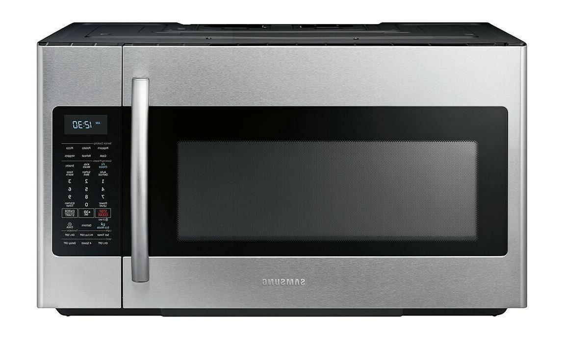 NEW IN BOX - Samsung - 1.8 cu ft. Over-the-Range Fingerprint