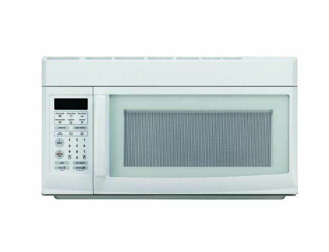 OVER THE MICROWAVE OVEN White Light Digital