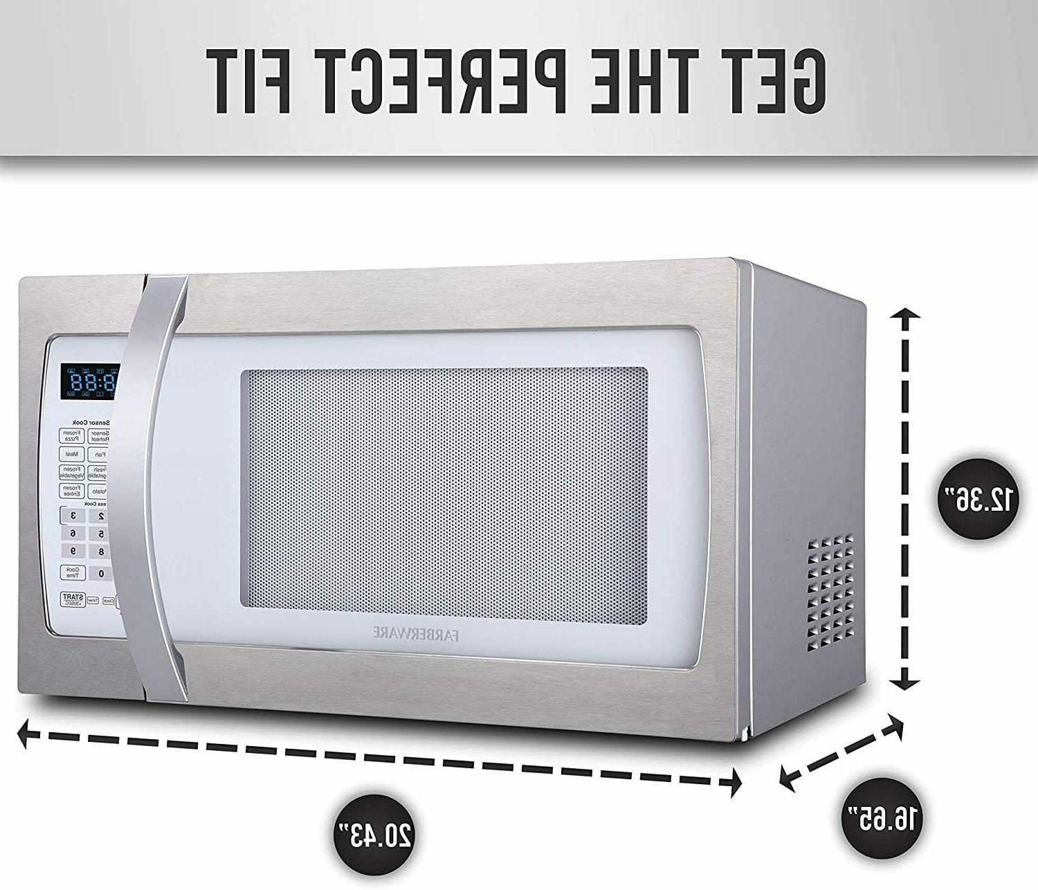 Farberware Professional FMO13AHTPLE 1.3 Cu. Ft. Microwave Oven