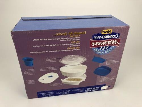 RARE Corningware Microwave Meal 7 Box